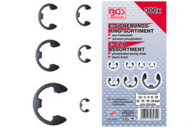 E-clips sortiment 300 dele, BGS Technic